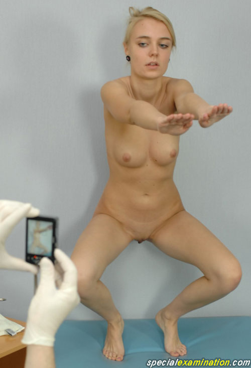 Teens girls naked at the doctor